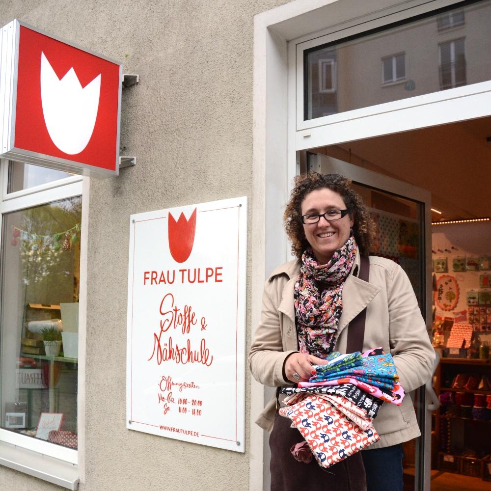 Frau Tulpe Stoffe Els At Kks36